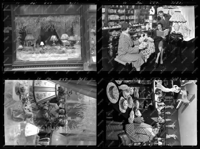 Kereskedelem - Hungarikum - Herendi porcelán üzlet