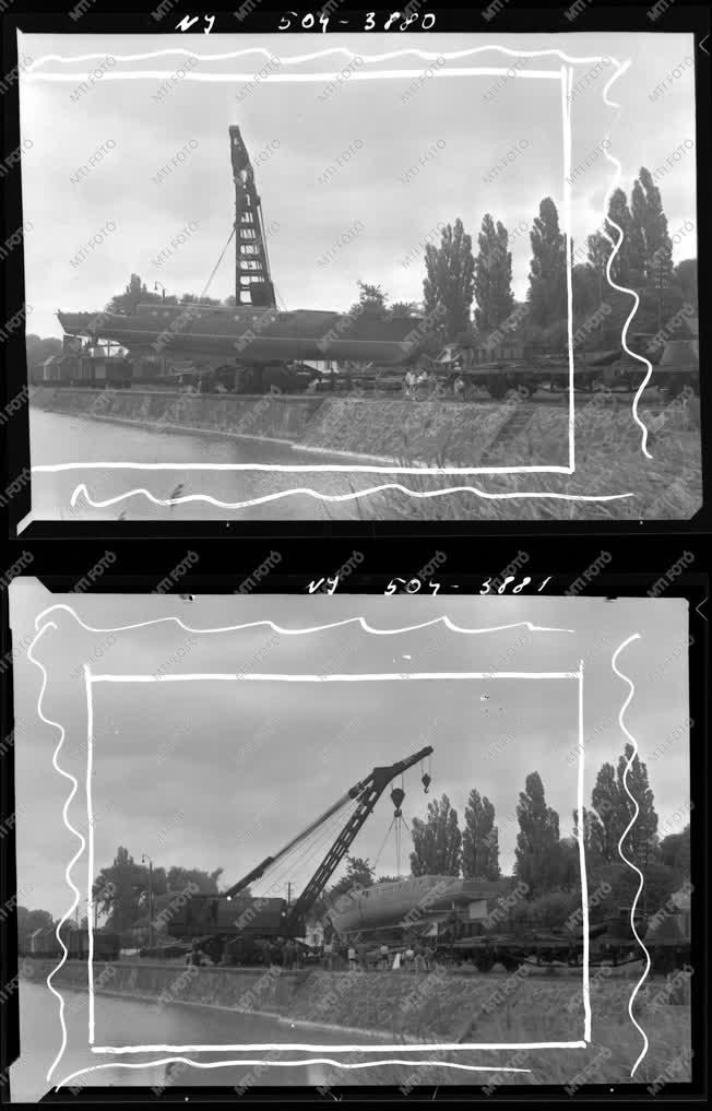 Ipar - Vontatóhajó, daru készül Lengyelországnak