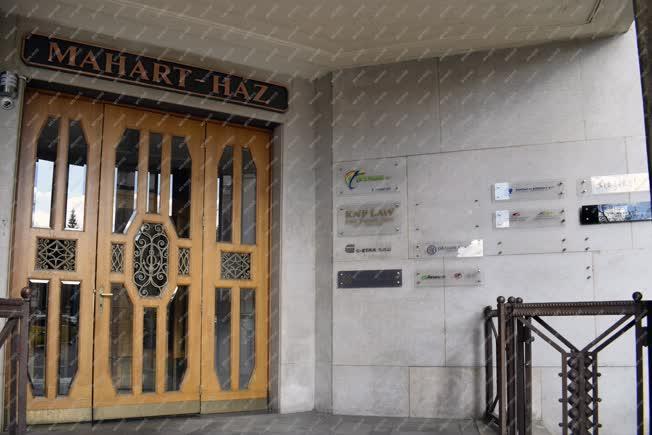 Városkép - Budapest - MAHART-ház
