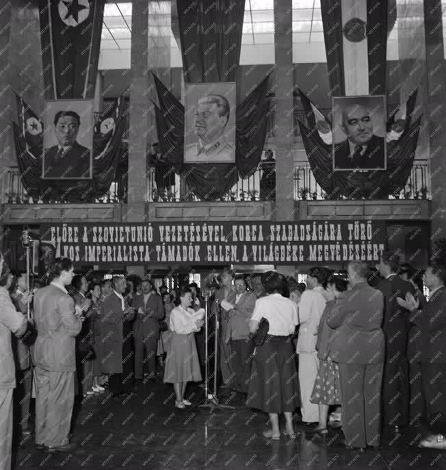 Külpolitika - Koreai háború - Magyar tábori kórház Koreának