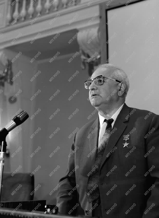 Külkapcsolatok - Tudomány - Petroszjanc Magyarországon