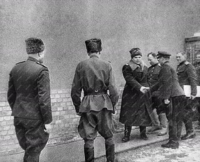 II. világháború - Budapest ostroma - Malinovszkij marsall