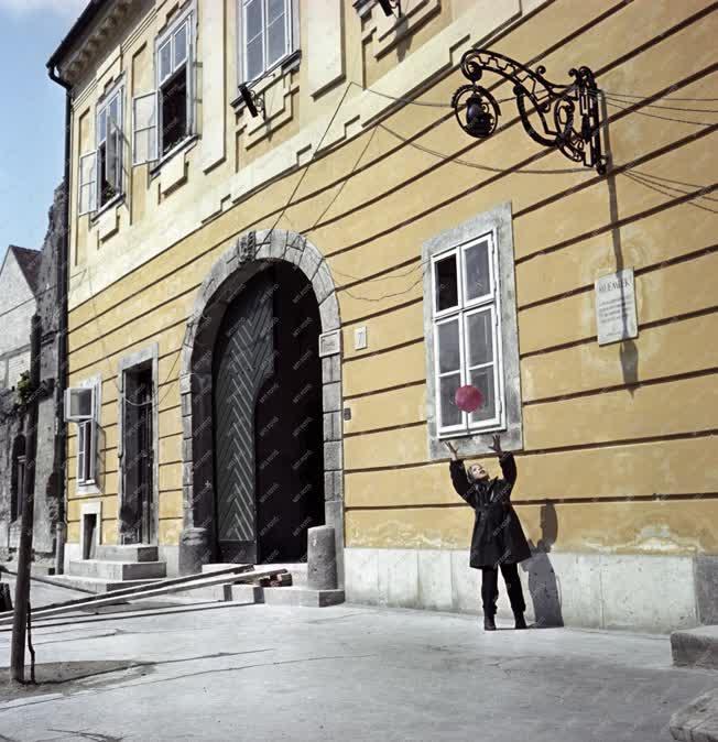 Városkép - Budapest - I. kerületi utcák