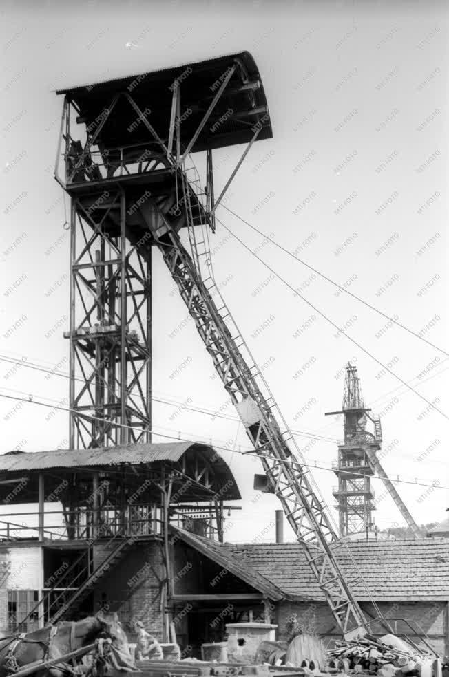 Bányászat - A komlói Zobák-bánya