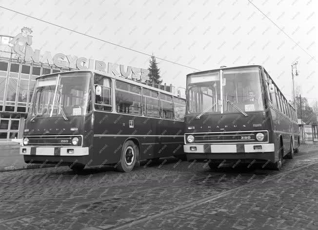 Tömegközlekedés - Járműipar - Új Ikarus buszok