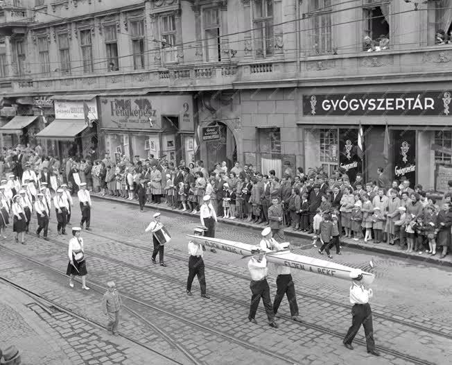 Állami ünnep - Május elseje Miskolcon