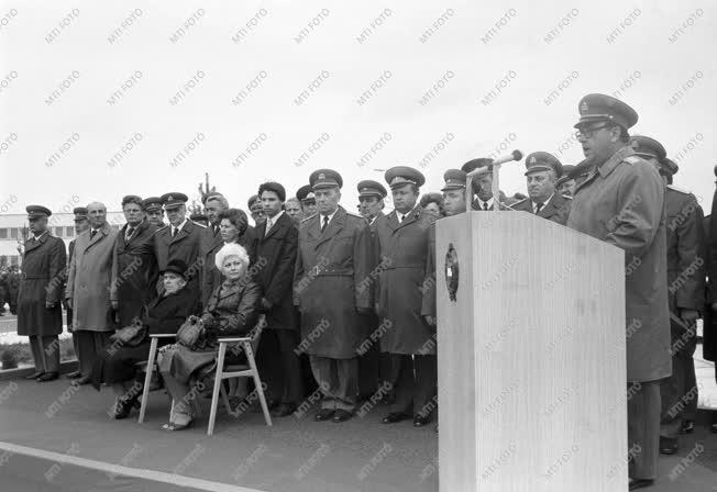 Fegyveres erők  -  Dobi István laktanya névadó ünnepsége