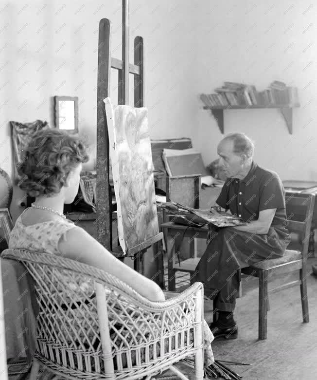 Képzőművészet - Czóbel Béla festő