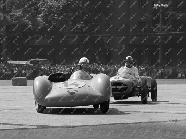 Sport - Grand Prix a Városligetben