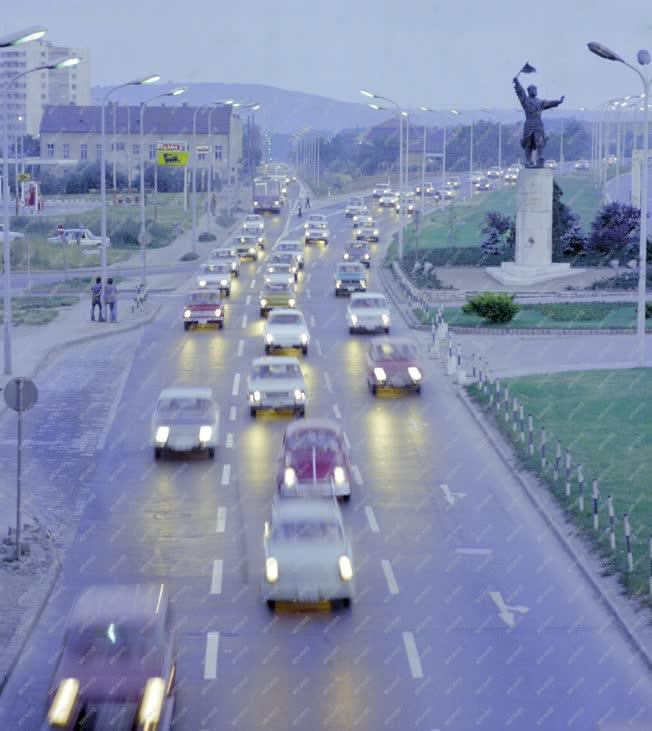 Közlekedés - M7-es autópálya fővárosi bevezető szakasza