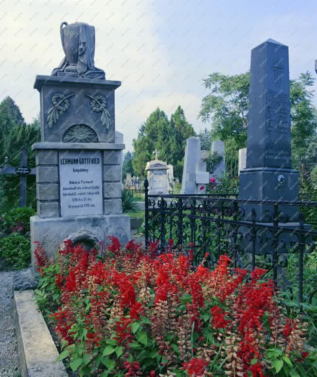Történelem - Sírkert - Gottfried Lehmann kapitány sírja