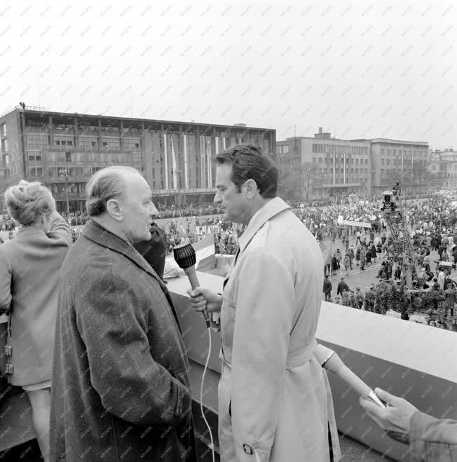 Belpolitika - Kádár János és Szepesi György