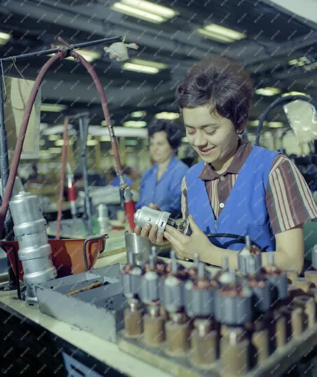 Ipar - Autóalkatrész gyártás a Bakony Művekben