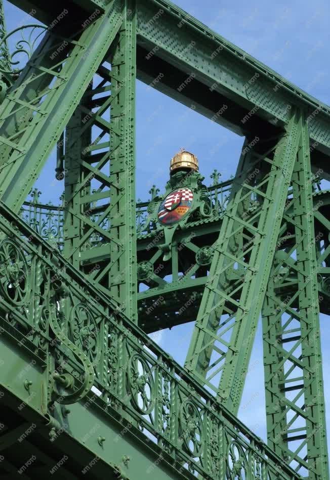 Városkép - Budapest - Szabadság híd