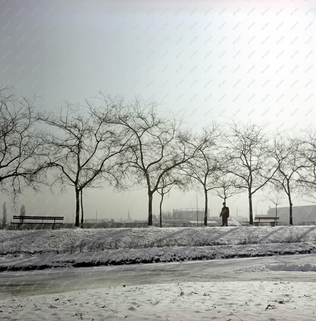 Városkép - Budapest télen