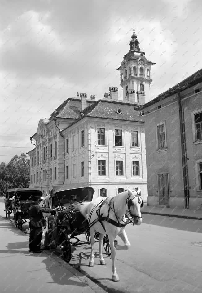 Városkép - Szeged - Konflis