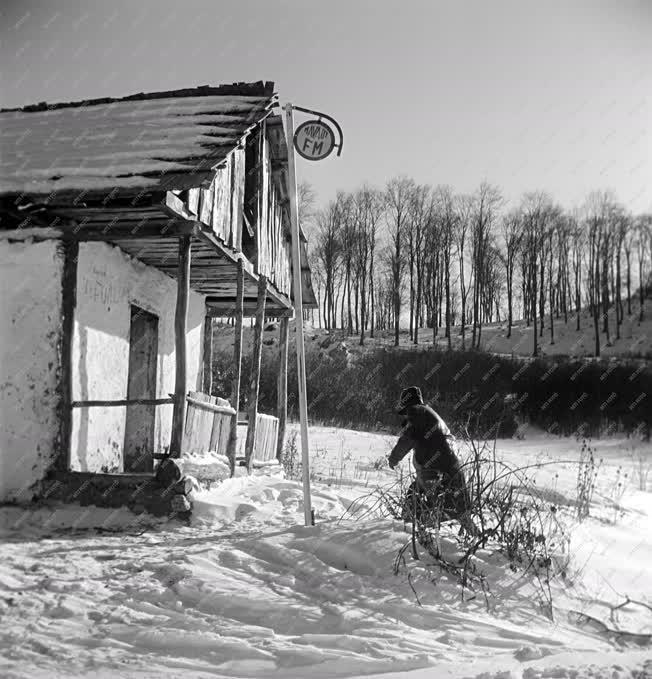 Városkép - Természet - Répáshuta télen