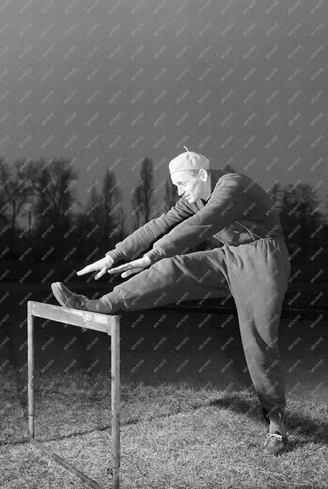 Sport - Rózsavölgyi István edzése