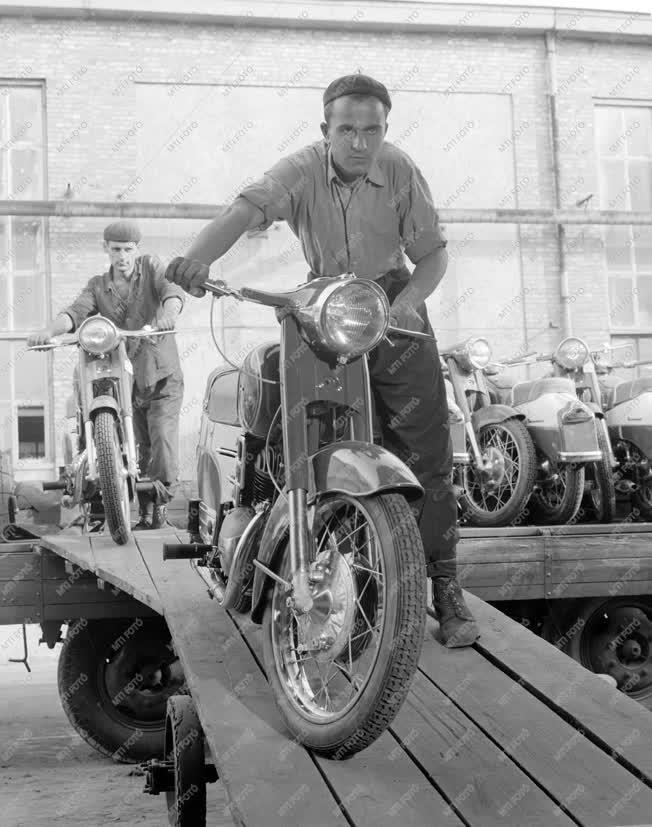 Járműipar - Motorkerékpár-gyártás