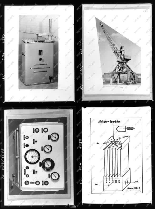 Ipar - Daru, műszer, rajz