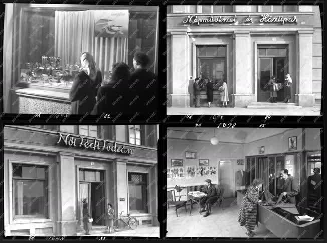 Kereskedelem - Boltok, üzletek Sztálinvárosban