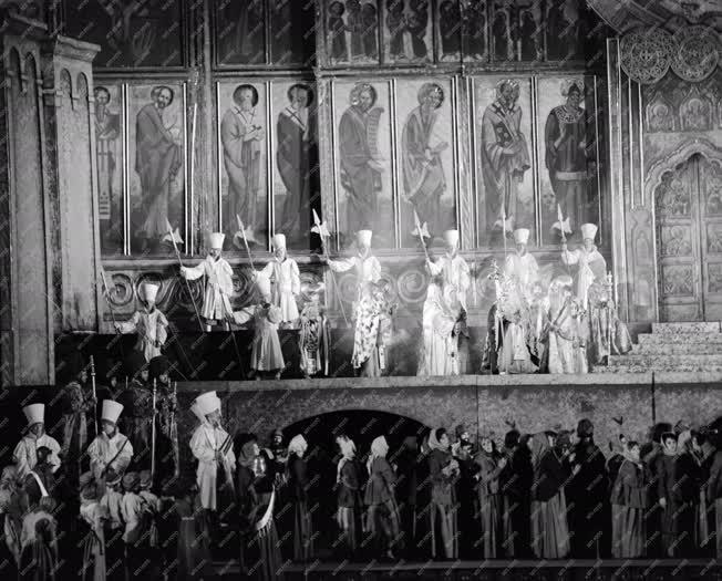 Kultúra - Opera - Borisz Godunov a Szegedi Szabadtéri Játékokon