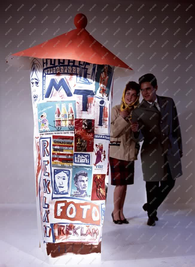 Reklám - Reklámfotózás az MTI műtermében
