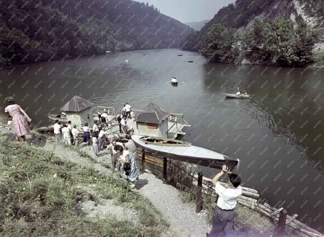 Szabadidő - Tájkép - Lillafüred - Hámori-tó