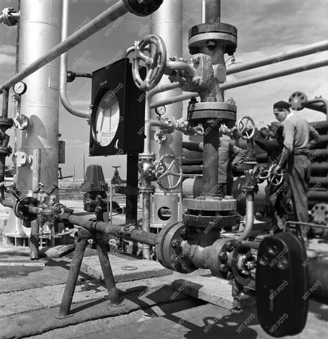Ipar - Hajdúsági földgáz