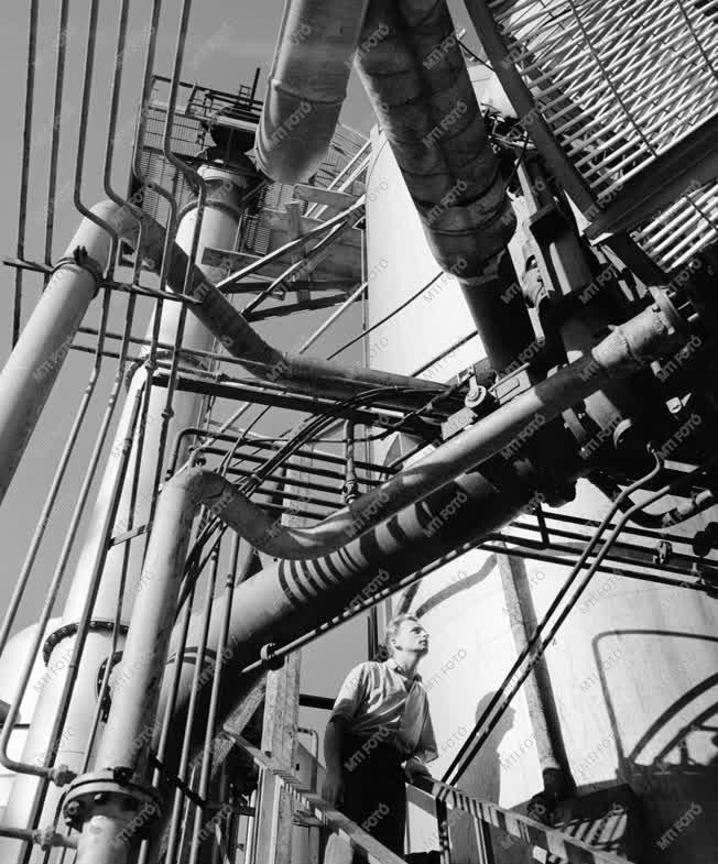 Ipar - Energiatermelés - Az Albertfalvai Földgázbontó