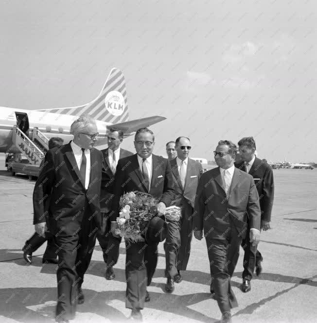Külkapcsolat - U Thant látogatása Budapesten