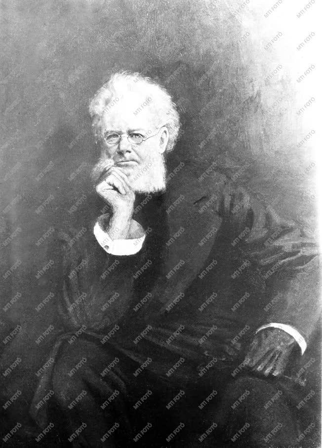 Henrik Ibsen  norvég író