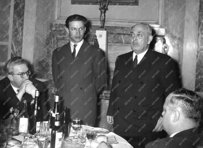 Külpolitika - Parlamenti küldöttség Andropovnál
