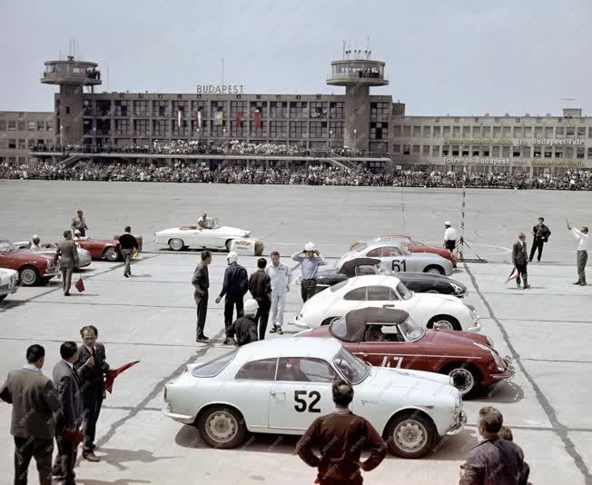 Autósport - Nemzetközi autóverseny Ferihegyen