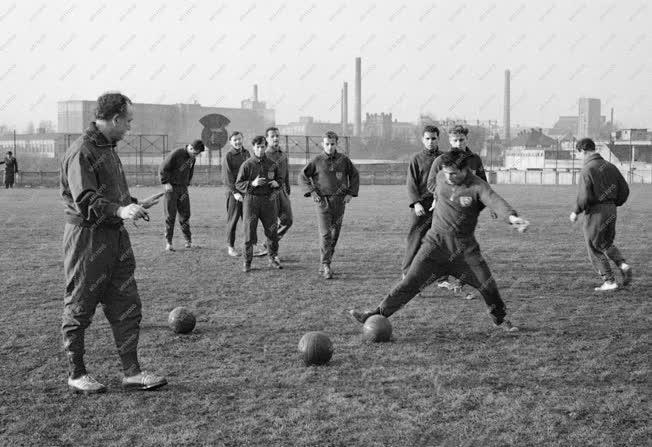Sport - Labdarúgás - Edzés - Berlini Dynamo