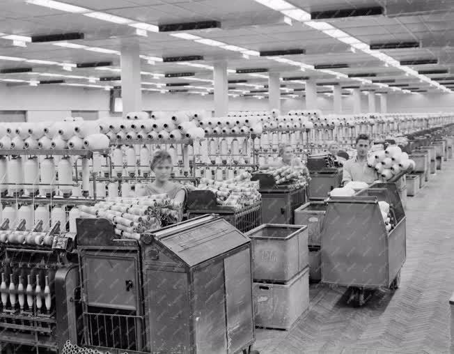 Textilipar - A Miskolci Pamutfonoda