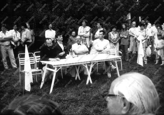 Belpolitika - Demokratikus ellenzék az 1980-as években