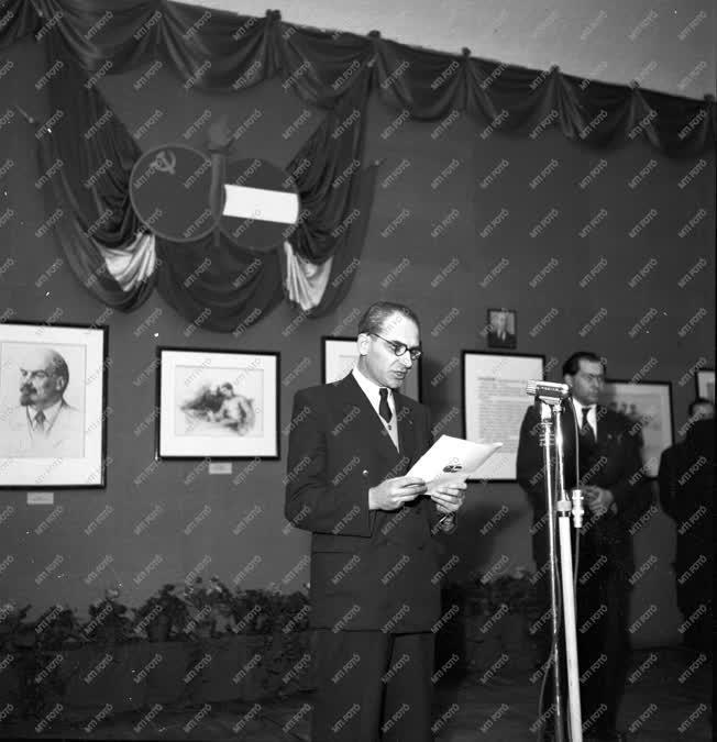 Külkapcsolat - Kiállítás - Szovjet grafikai kiállítás
