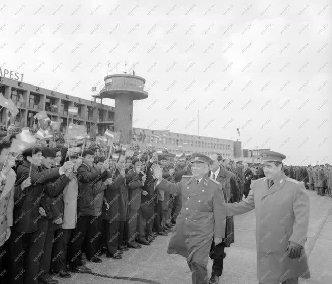 Külpolitika - Giap hadseregtábornok Budapesten