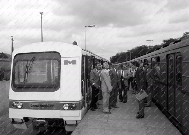 Tömegközlekedés - Ganz Hunslet G2