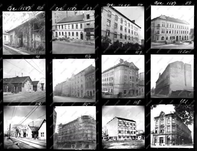 Városkép - Fővárosi III. kerületi épületek