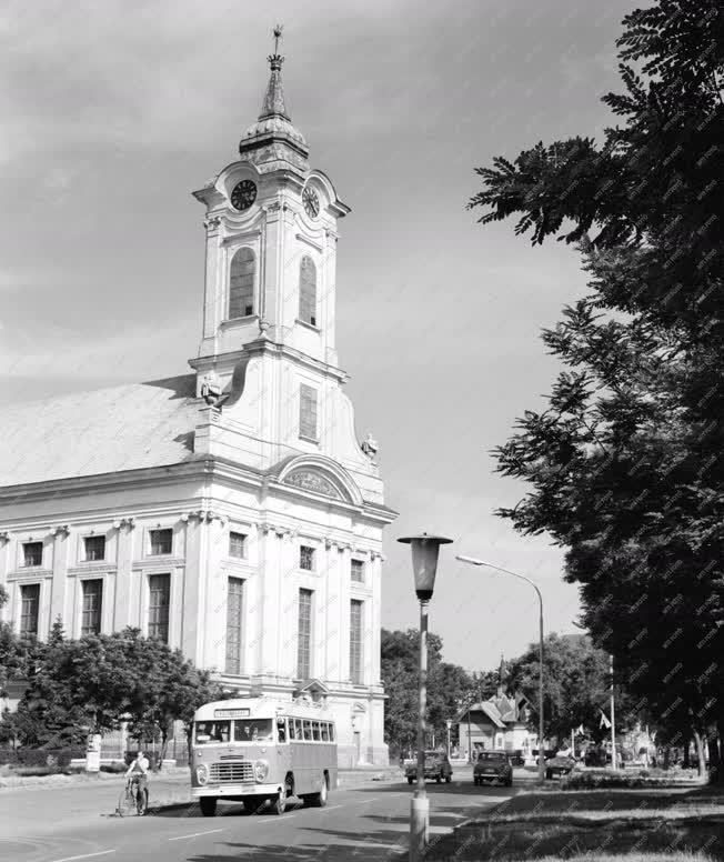 Városkép - Evangélikus nagytemplom