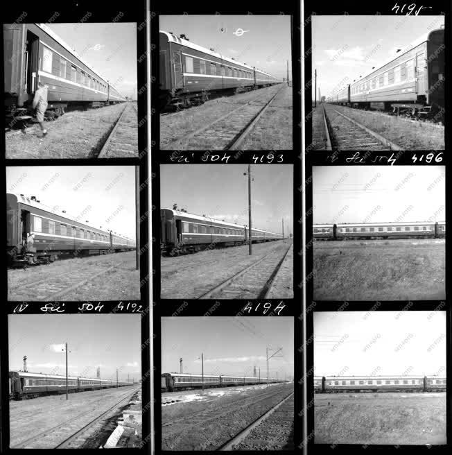 Ipar - Közlekedés - Kínából importált vonat
