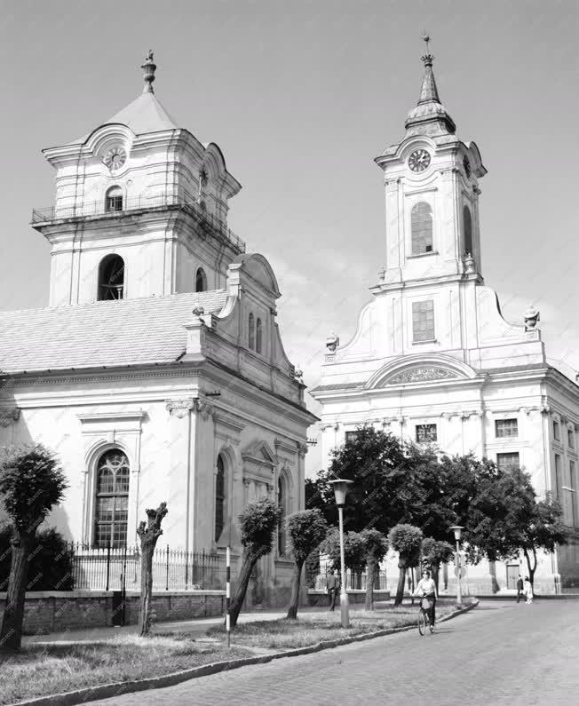 Városkép - Békéscsaba - Evangélikus templomok