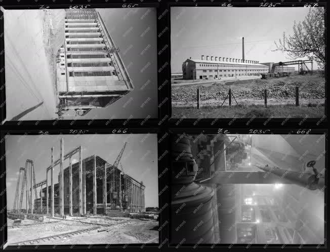 Ipar - Építkezés - Hőerőmű
