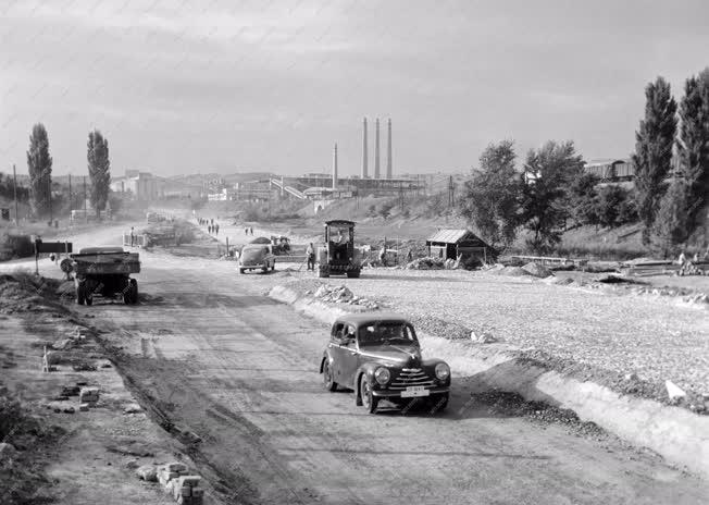 Közlekedés - Új út épül Vác és Balassagyarmat között