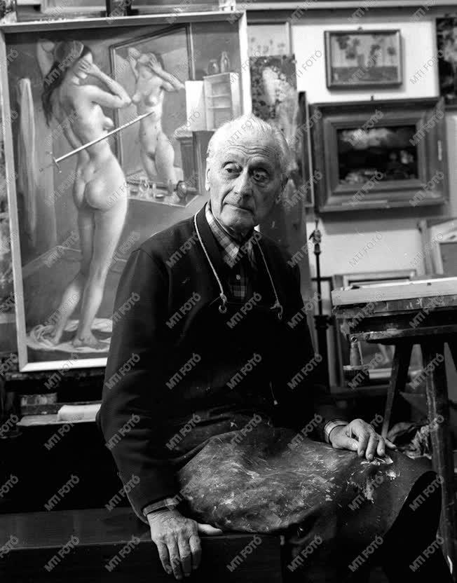 Molnár C. Pál festőművész