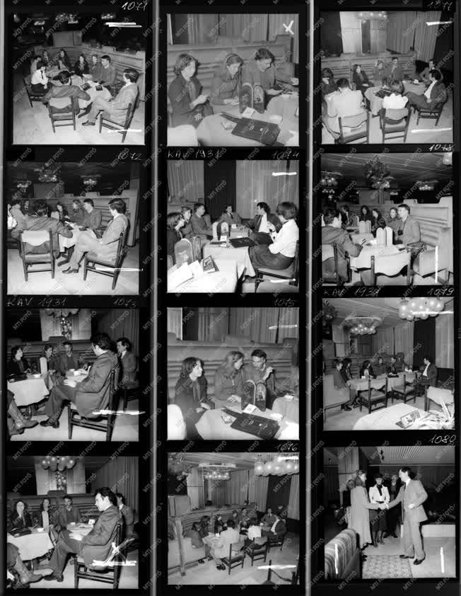 Idegenforgalom - Külkapcsolat - Külföldiek a Margitszigeti Nagyszállóban