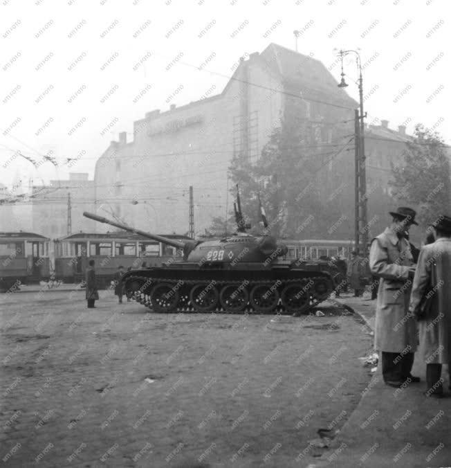 Ötvenhat emléke - Kálvin tér