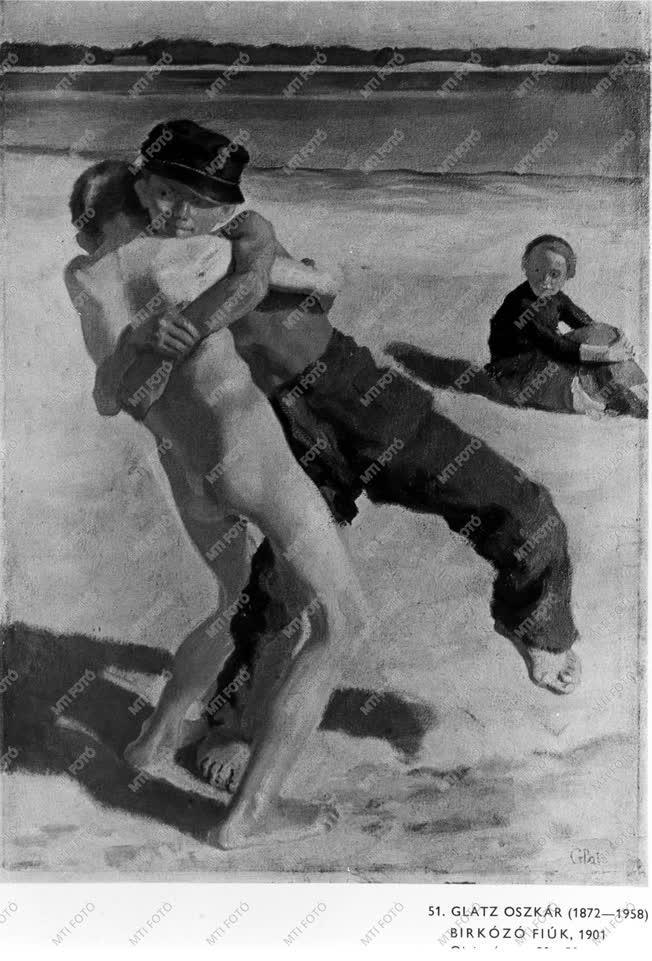 Glatz Oszkár Kossuth-díjas festő